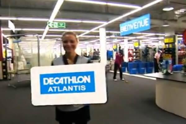 Avec près de 100000 connexions sur le lipdub de Décathlon Evreux, C3D – Convergence Images a renouvellé l'expérience avec le Décathlon Atlantis Nantes.