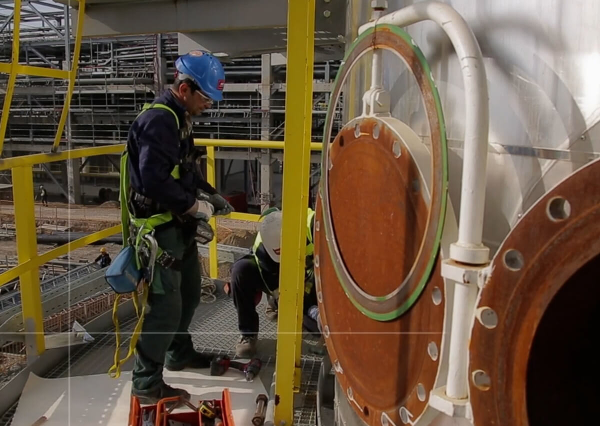 La sûreté 2 - domaine industriel - Un deuxième exemple de la mini-série de film développée dans le domaine industriel