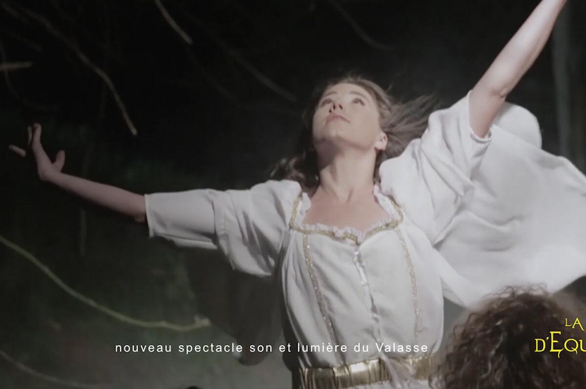 Pub TV La Légende d'Equinandra - Réalisation d'un film publicitaire TV : La quête d'une femme pour les droits normands,