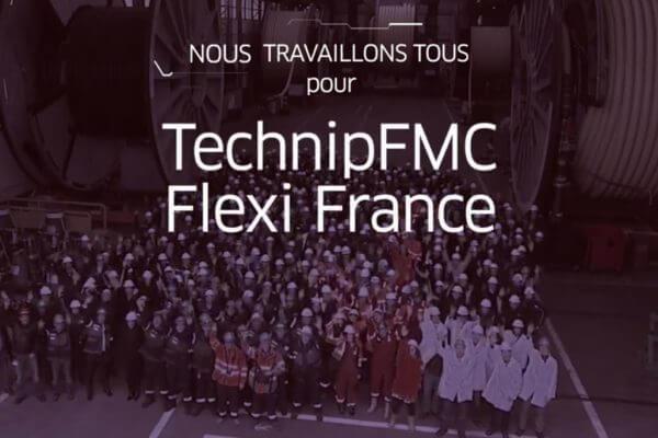 La fusion des sociétés Technip et FMC a permis à la société de communication audiovisuelle Convergence images de mettre à jour la vidéo Corporate de Flexi France, près de Rouen
