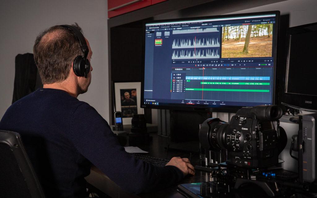 Convergence images, montage d'une vidéo professionnelle